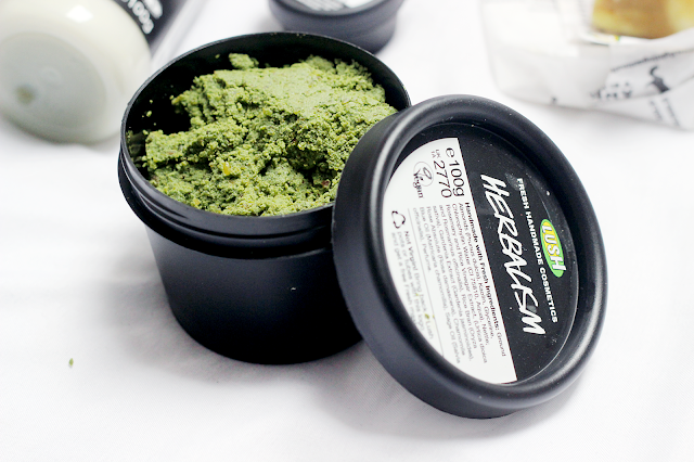 lush herbalism face cleanser