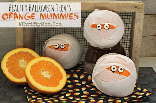 PAP 02 - Como fazer Laranjas Múmias - DIY Halloween