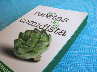 Portada del libro Las recetas de El Comidista.