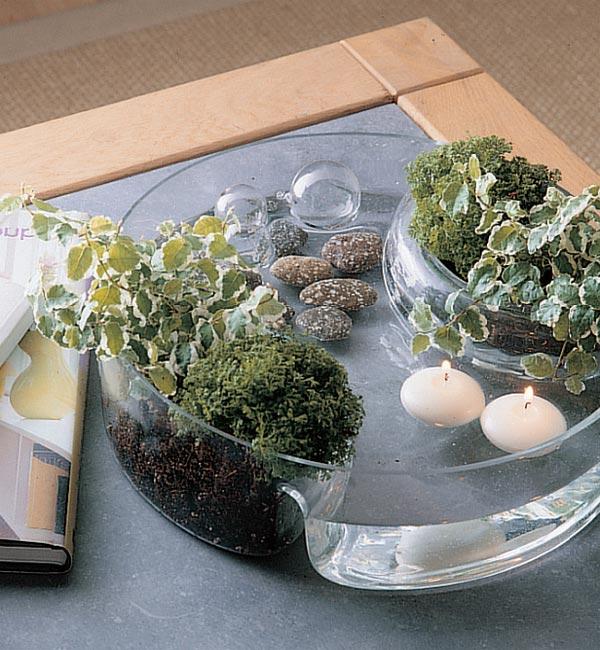 Arreglos florales para decorar tu casa cocinas modernas for Como hacer adornos con plantas naturales