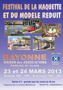 bayonne : Festival de la maquette et du modèle réduit 2013