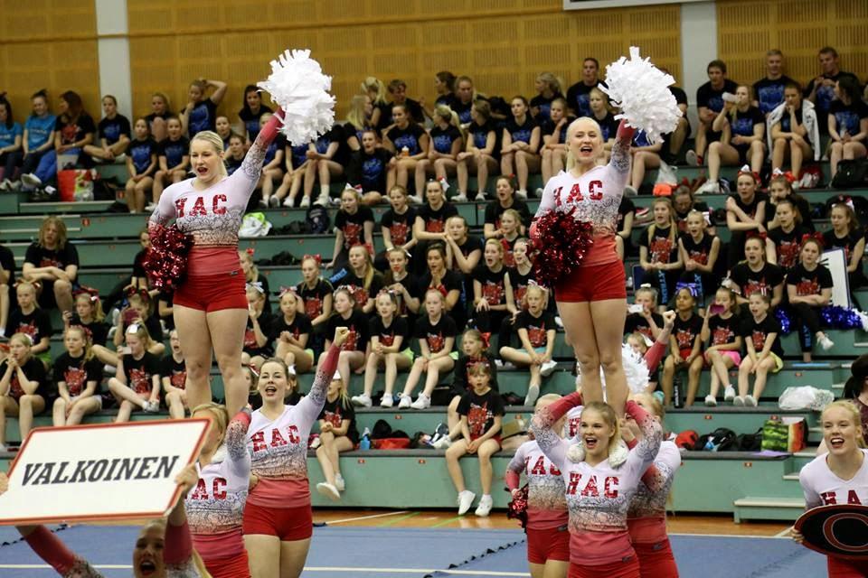 Cheerleading aloittelijoille helsinki