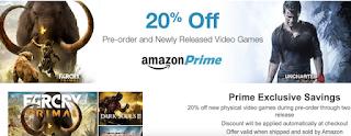 Amazon Prime 20% discount, discount, Amazon online