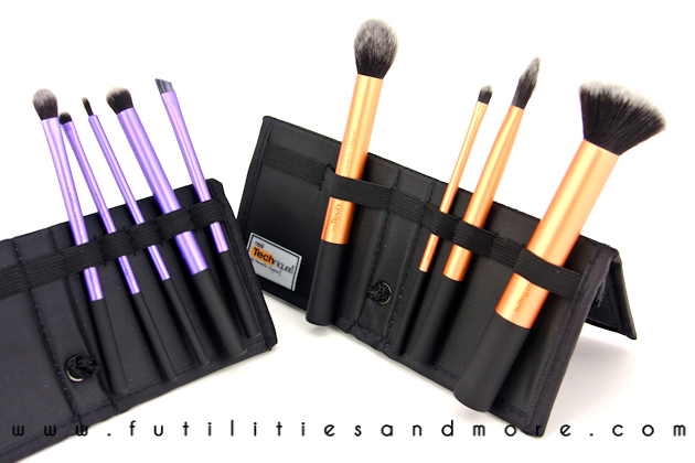Real Techniques Core Collection Set Review - Makeup Brushes