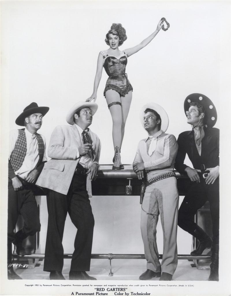 Movie red garders 1954