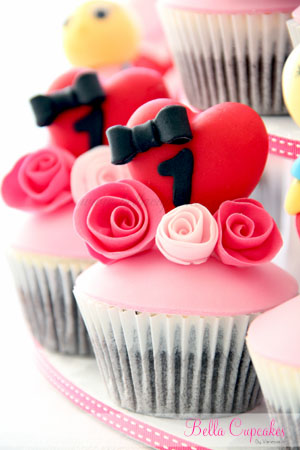Bella Cupcakes Miss Olivia Turns One
