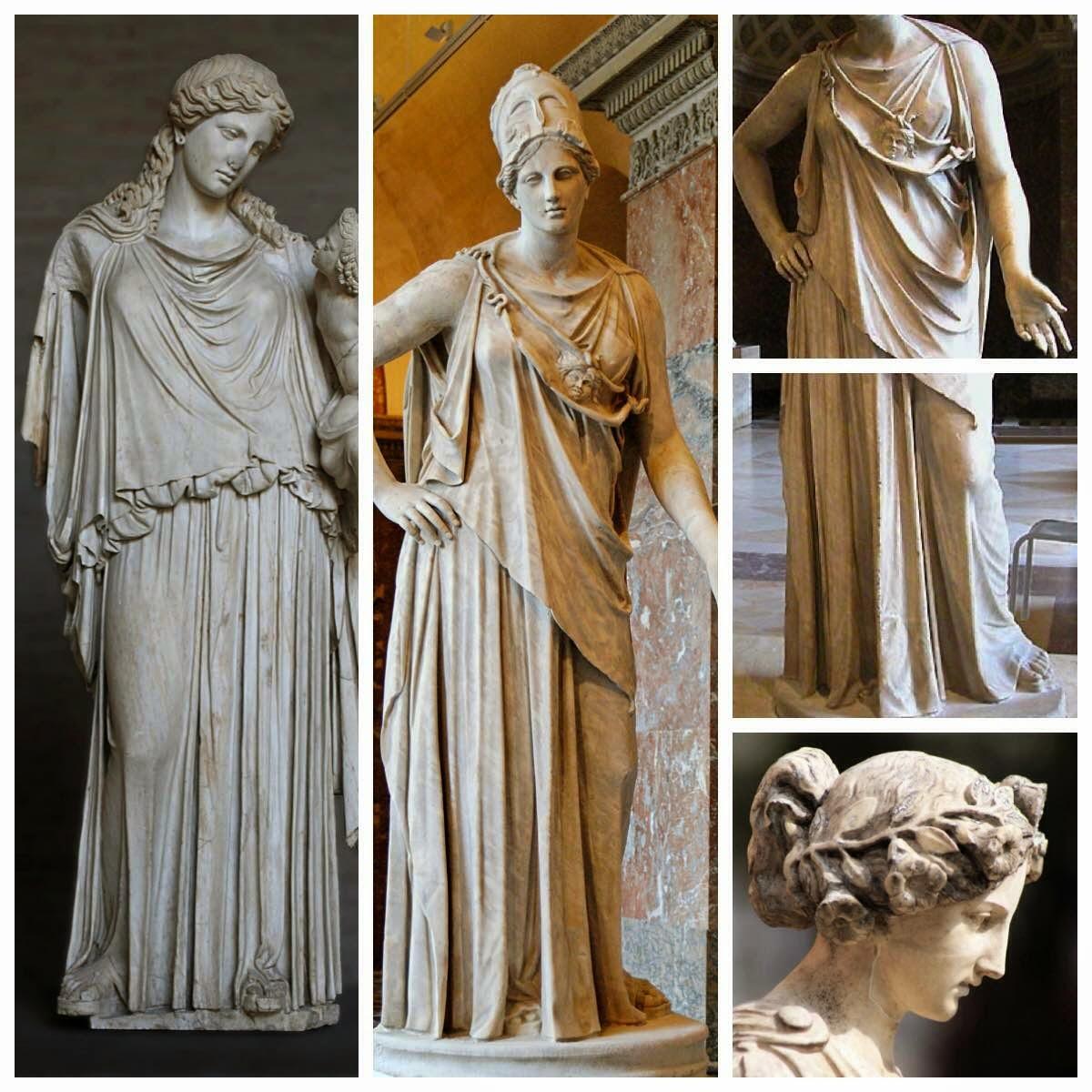 Znalezione obrazy dla zapytania moda w starożytnej grecji