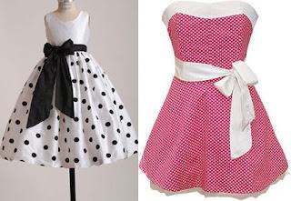 imagens de vestidos anos 60 infantil