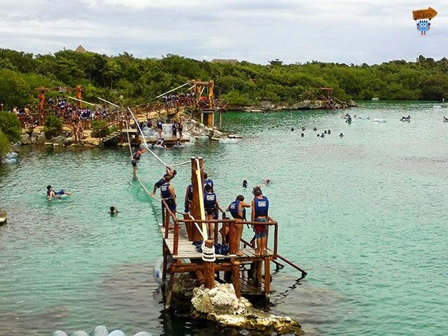 Actividades acuáticas en Xel Ha