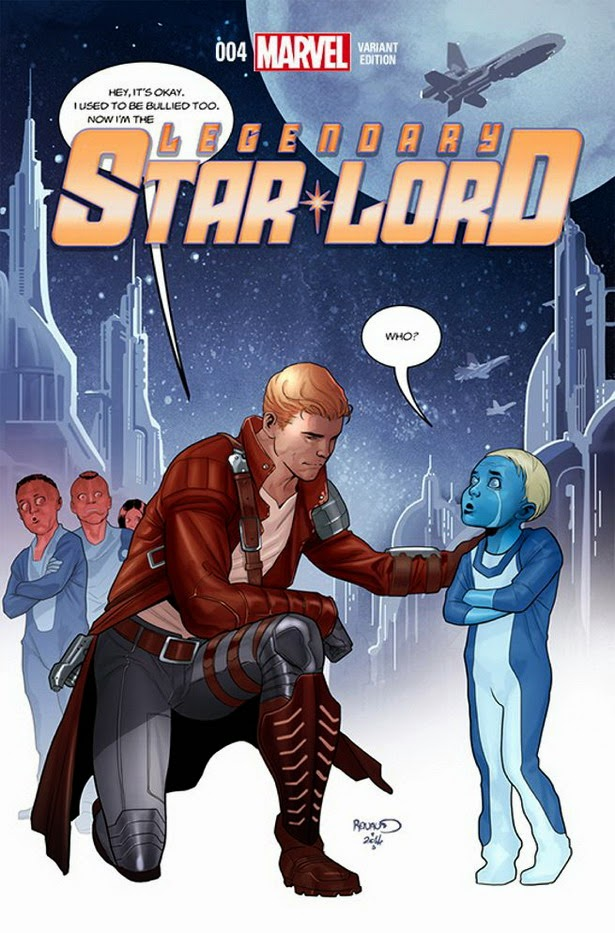 Portada Anti-bullying Legendary Star Lord 04