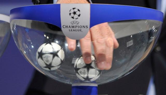 Sorteo de grupos de la Champions League en vivo