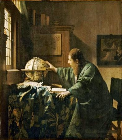 Verneer's The Astronomer
