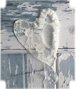 Romantic Lace Heart