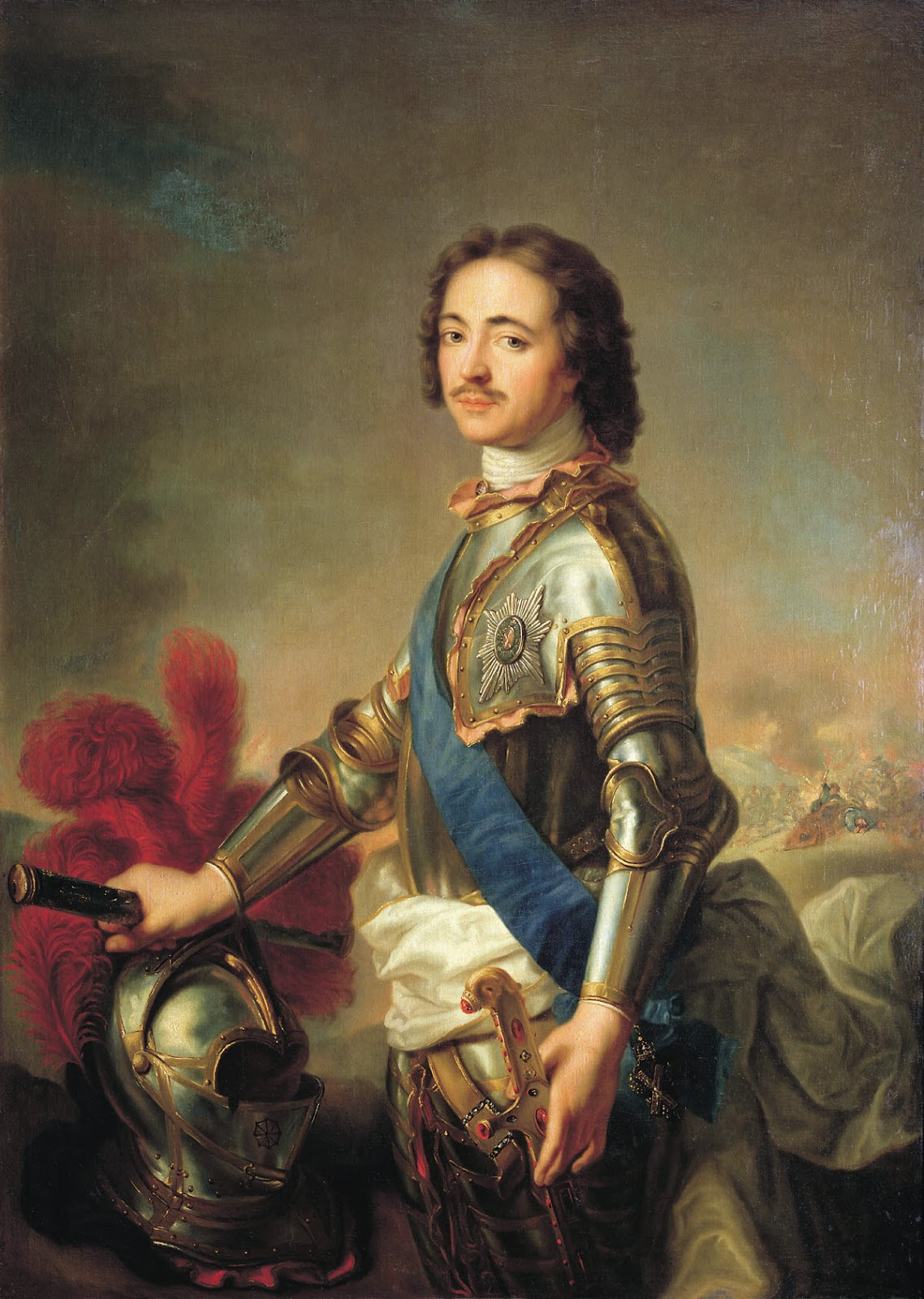 царь Пётр Первый