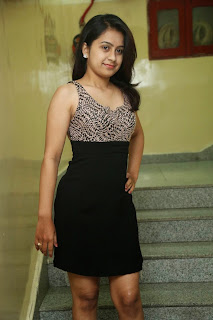 Actress Lehitha Namburi Picture Gallery in Short Dress 17