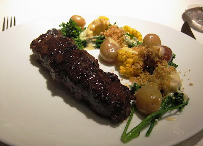 Flat Iron Steak at Parcel 104