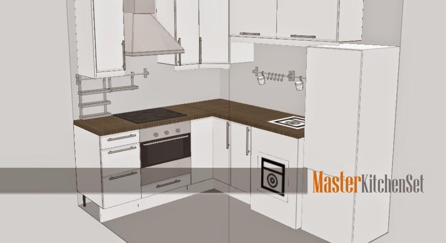 kitchen set di semarang blog master kuning