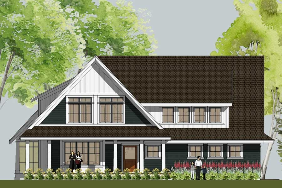 New home design features granny flat home interior for Granny flat above garage
