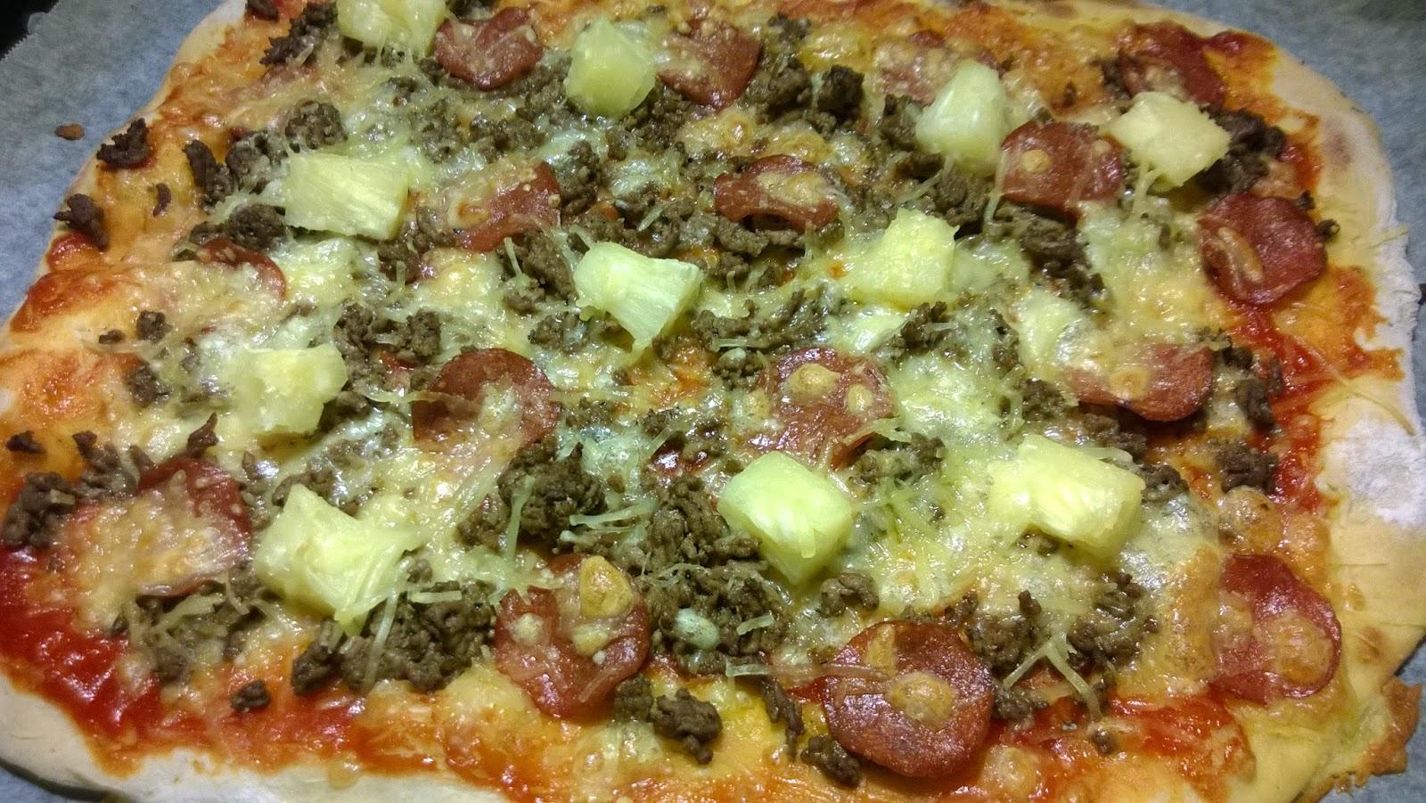 Pizza, kuinka ja läskisoosipizza! Oikeasti!