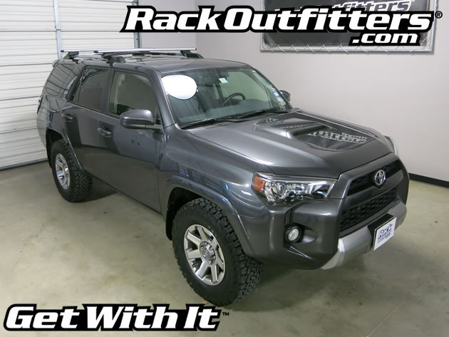 Toyota 4 Runner Thule Rapid Crossroad Silver Aeroblade
