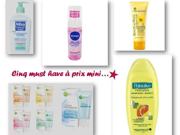 5 produits de beauté pour beautystas fauchées...