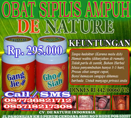 OBAT SIPILIS