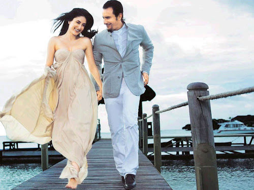 Kareena kapoor saif ali khan wallpapers in agent vinod couple