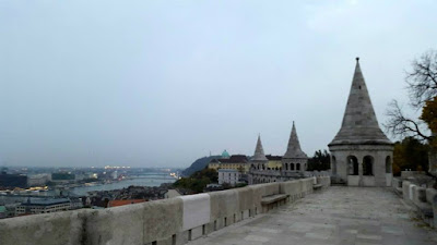 At Buda Castle in Hungary
