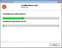 Instal Ubuntu 11.04 di Windows via Wubi
