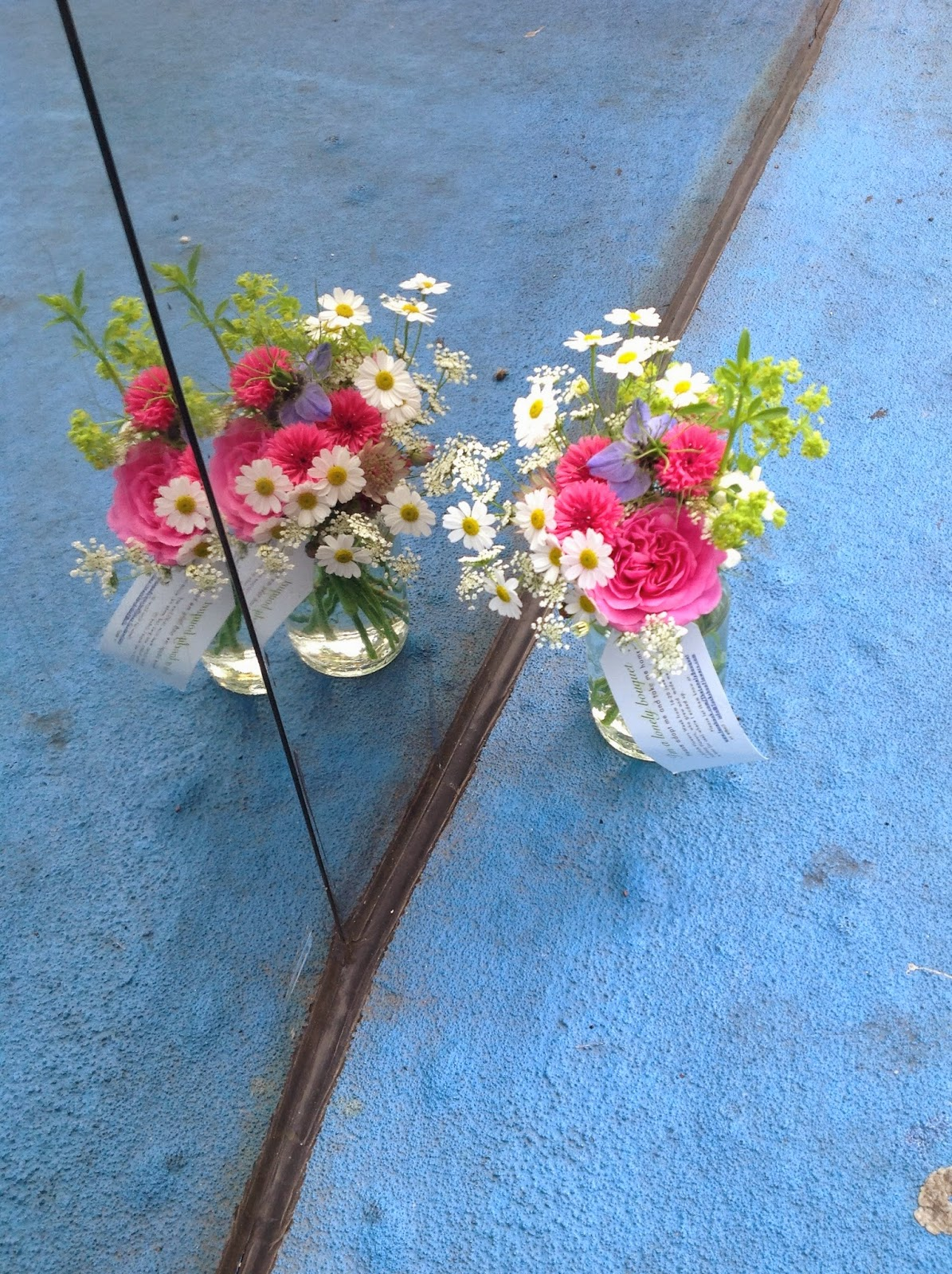 British flowers Birmingham.  Grown by Tuckshop Flowers B30