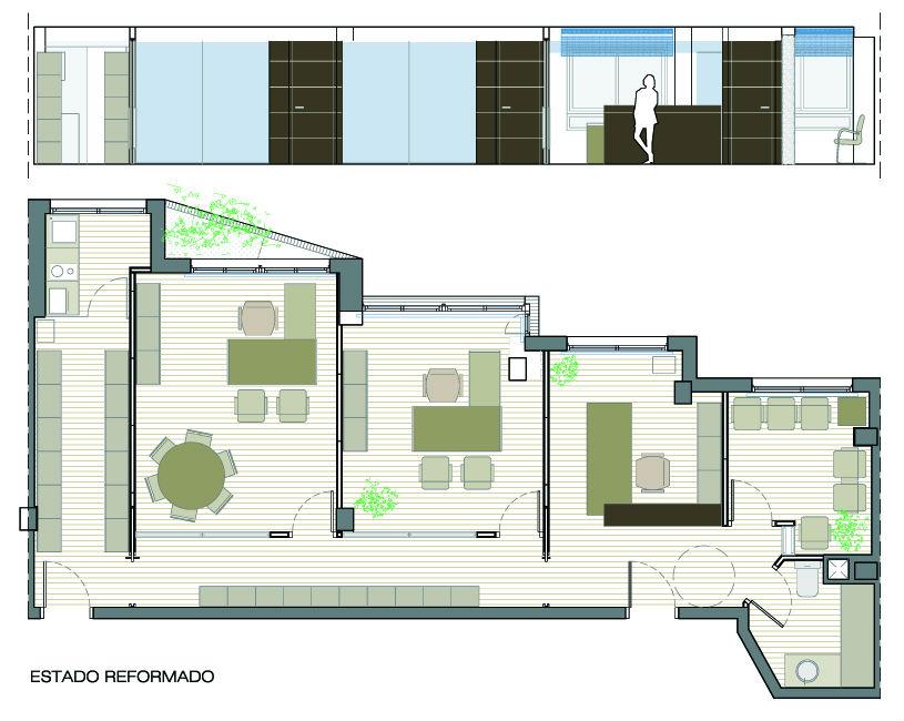 Reforma despacho de abogados diazmoreno arquitectura for Despacho arquitectura