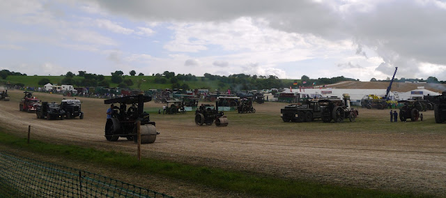 Great Dorset Steam Fair engines