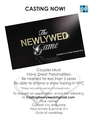 The Newlywed Gameshow looking for contestants