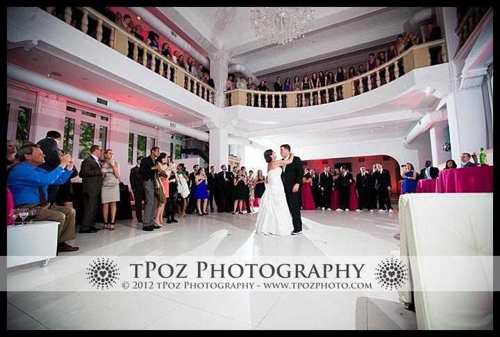 First Dance at Philadelphia Trust Wedding Reception