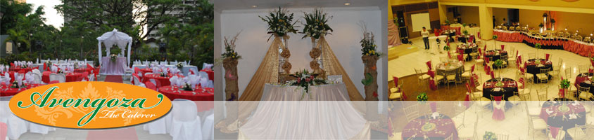 Avengoza Catering Services - Wedding Caterer in Antipolo, Rizal