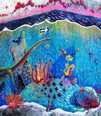 entrada a mundo marino: