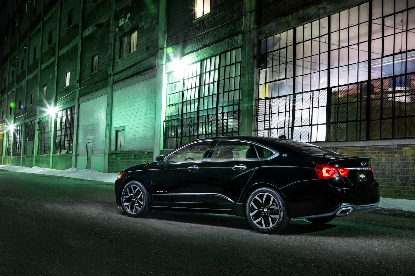 Chevrolet Impala Midnight Edition Has Entered Production