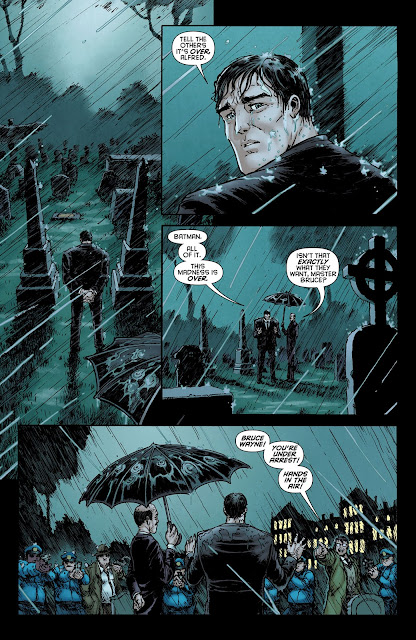 Bruce Wayne bajo arresto