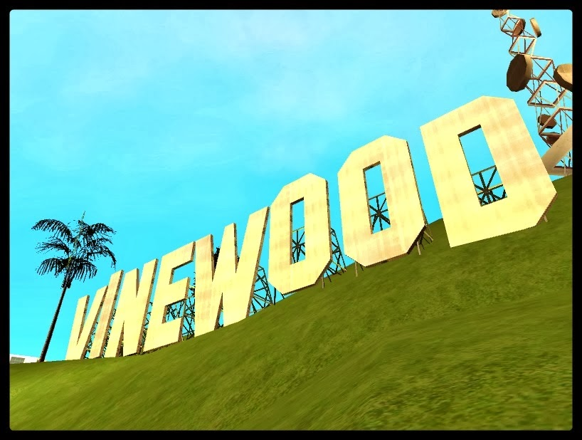 GTA SA - Placa De Vinewood Em HD
