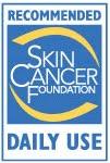 Recomendado por SKIN CANCER FOUNDATION para uso diario