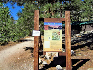 Another Big Pine Creek Trailhead by Glacier Lodge. Use this one for the South Fork.