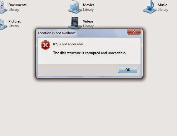 Cara merubah partisi hardisk RAW menjadi NTFS tanpa format ulang