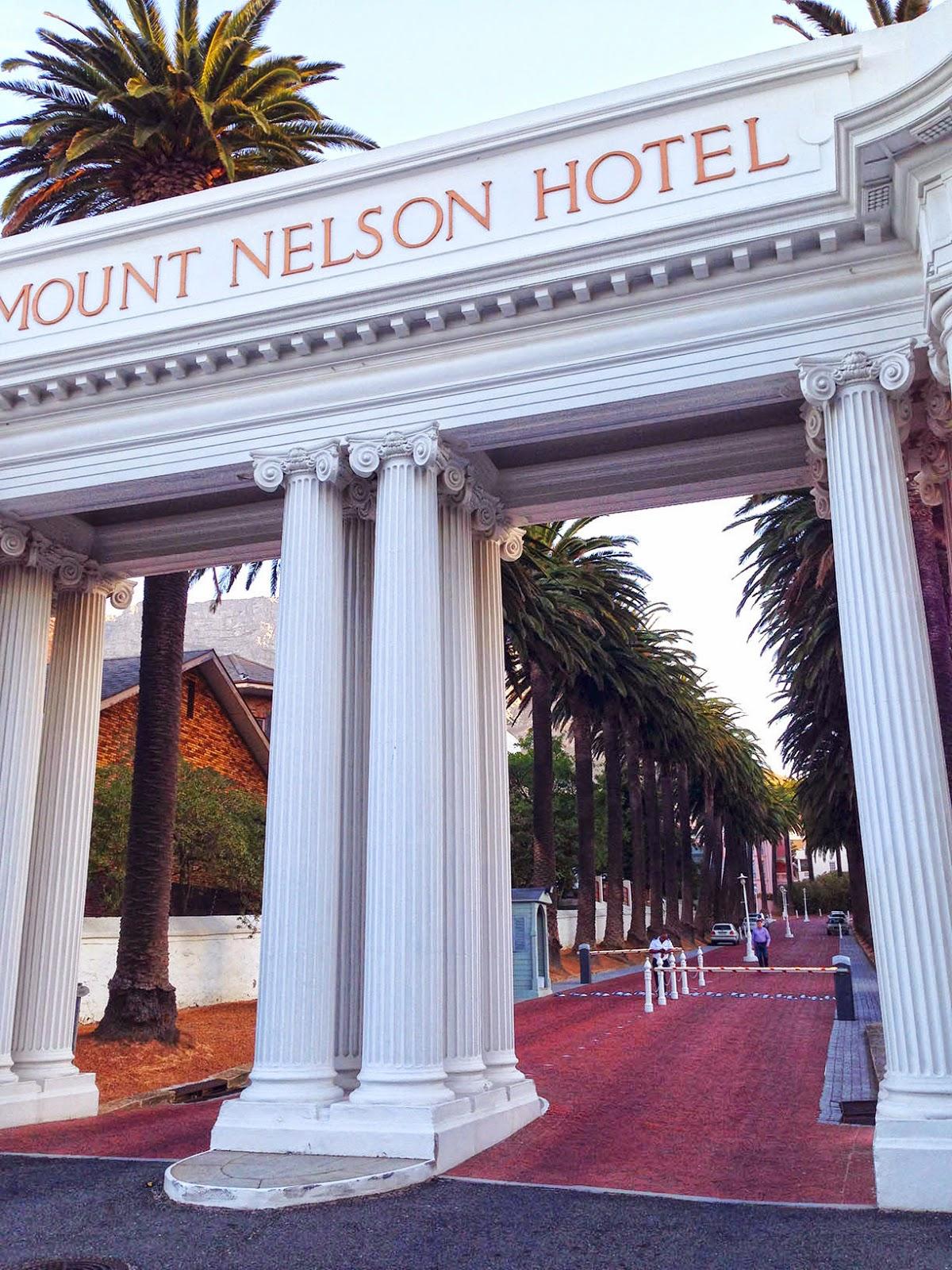 Cape Town Mt. Nelson Hotel