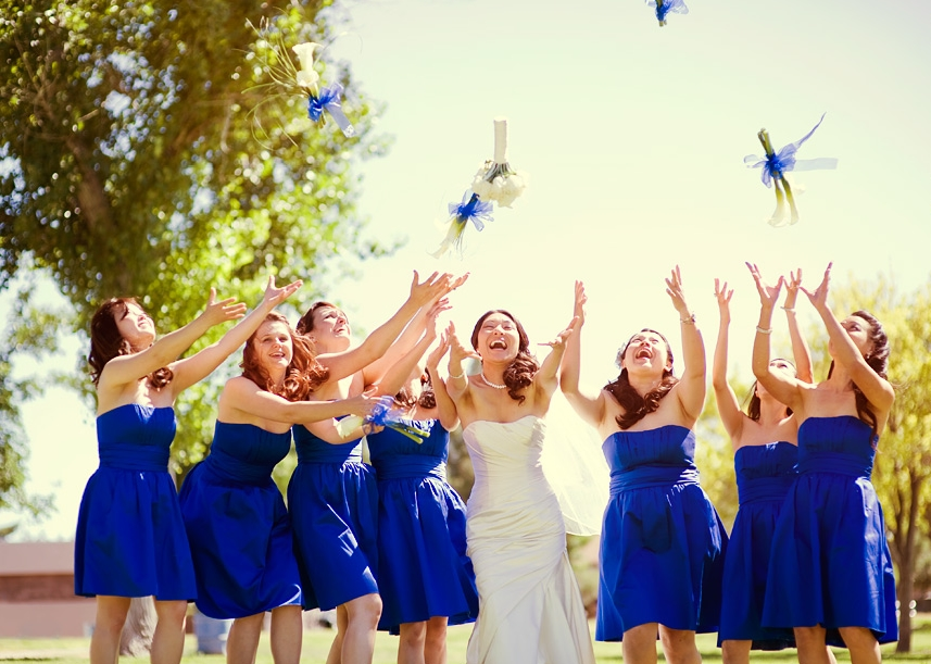whiteazalea bridesmaid dresses blue bridesmaid dresses
