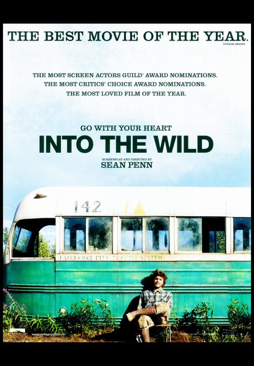 into the wild novel vs film Chapter questions - into the wild author's note and chapter 1 1 what is the personal history of chris mccandless he grew up in a suburb of washington, dc with a.