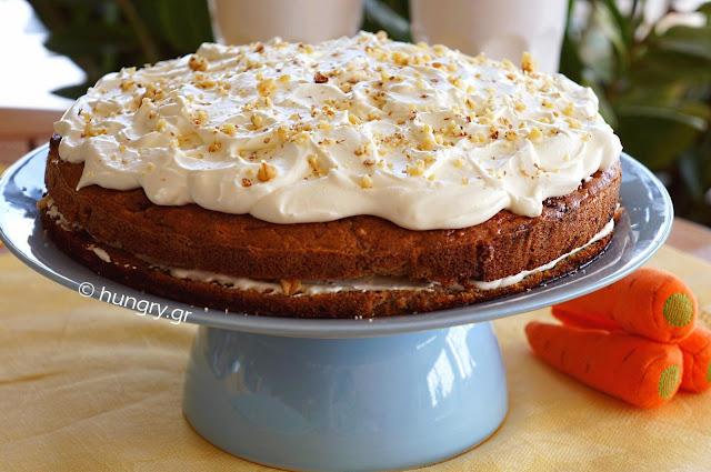 Κέικ Καρότου χωρίς Αλεύρι