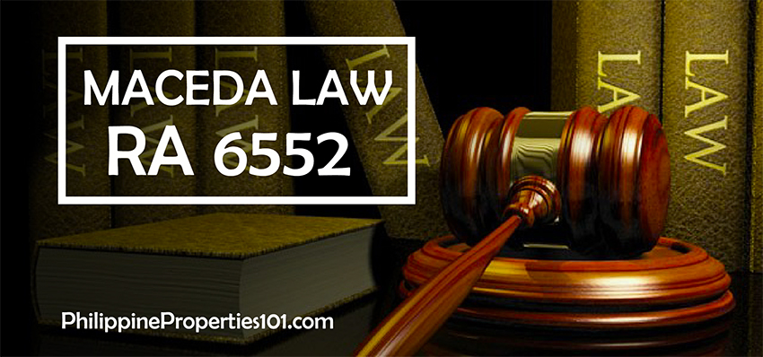Maceda Law: R.A. 6552 Realty Buyers Installment Act