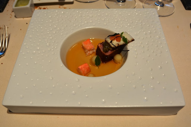 Restaurant St. Nicolas lobster soup swordfish