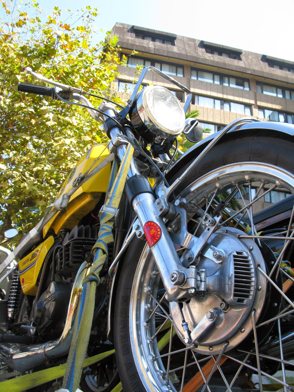 bultaco metralla  santander moto piston rally spain