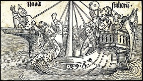 Albrecht Dürer: Ship of Fools.